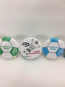 『VIVACUP2016 MAMA 』参加賞缶バッジ